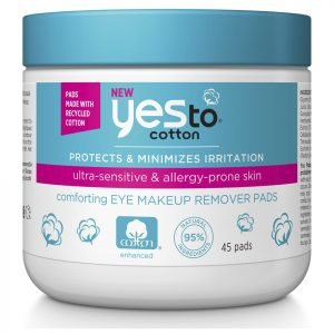 Yes To Cotton Eye Makeup Remover Pads 45 Pack