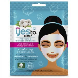 Yes To Cotton Paper Mask Single Mask