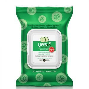 Yes To Cucumbers Hypoallergenic Facial Wipes Pack Of 30