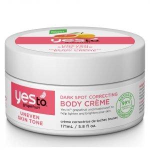 Yes To Grapefruit Dark Spot Correcting Body Crème
