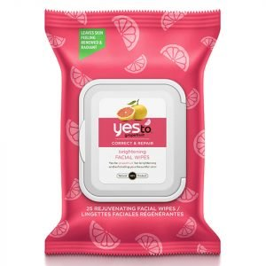 Yes To Grapefruit Rejuvenating Facial Wipes Pack Of 25