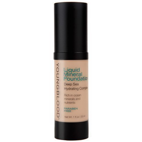 Youngblood Liquid Mineral Foundation Golden Tan