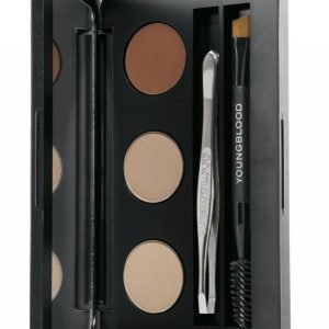 Youngblood Mineral Cosmetics Brow Artiste Kit Kulmaväri
