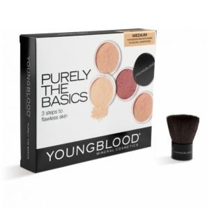 Youngblood Mineral Cosmetics Purely The Basic Kit Medium Meikkisetti