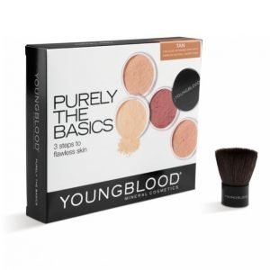 Youngblood Mineral Cosmetics Purely The Basic Kit Tan Meikkisetti
