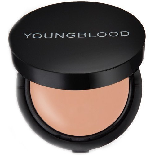 Youngblood Mineral Radiance Crème Powder Foundation Refillable Warm Beige