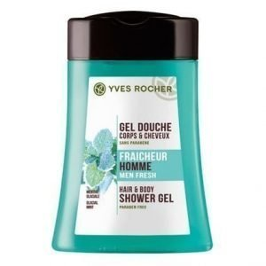 Yves Rocher Homme Suihkusampoo