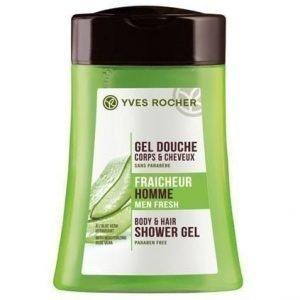 Yves Rocher Homme Suihkusampoo Moisturizing Aloe Vera