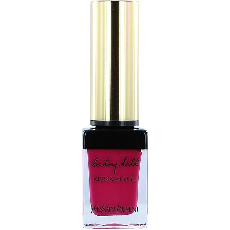 Yves Saint Laurent Babydoll Kiss & Blush N°01 Fuchsia Desinvolte 10ml