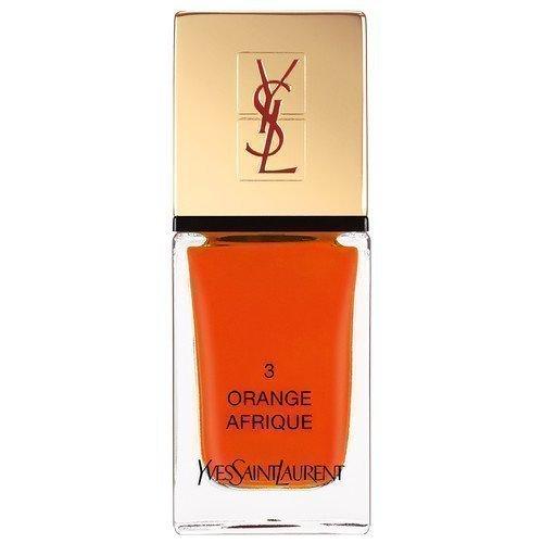 Yves Saint Laurent La Laque Couture Orange Afrique