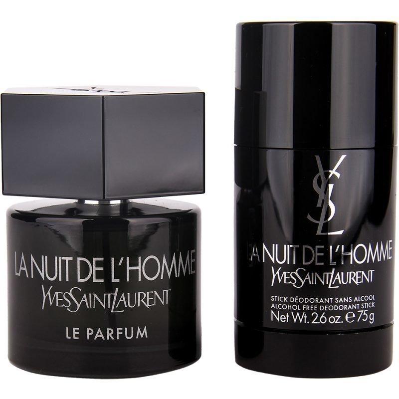 Yves Saint Laurent La Nuit De L'Homme Duo EdP 60ml Deostick 75ml
