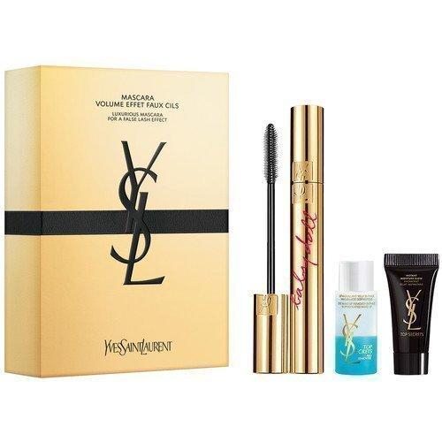 Yves Saint Laurent Mascara Babydoll + Eye Makeup Remover + Top Secrets Moisture Glow