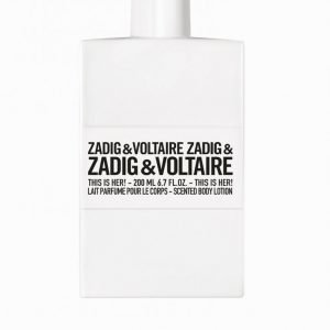 Zadig & Voltaire This Is Her Body Lotion 200ml Tuoksu