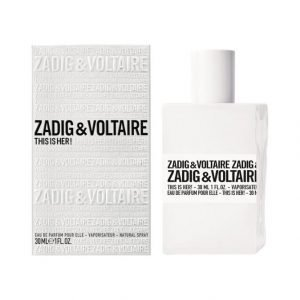 Zadig & Voltaire This Is Her! Edp Tuoksu 30 ml