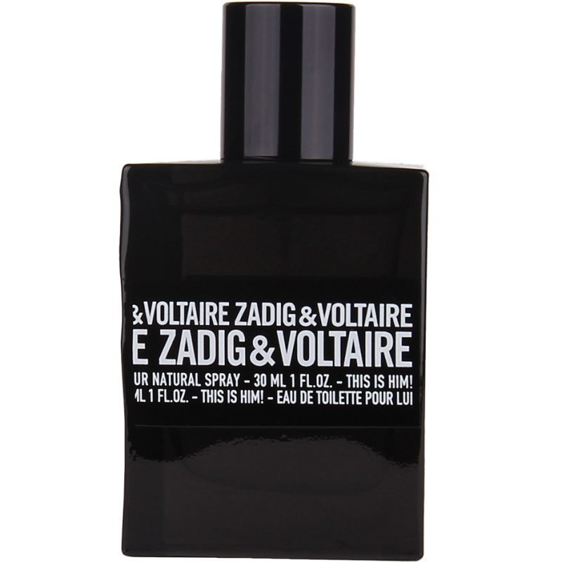 Zadig & Voltaire This Is Him! EdT 30ml
