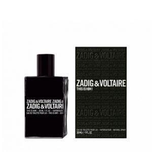 Zadig & Voltaire This Is Him Edt 30 Ml Hajuvesi