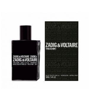 Zadig & Voltaire This Is Him Edt 50 Ml Hajuvesi