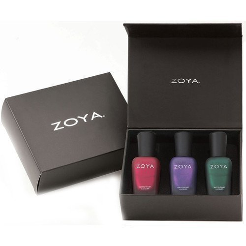 Zoya Nail Polish Matte Velvet Trio Kit