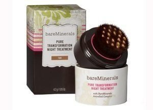 bareMinerals Pure Transformation Night Treatment - Tan