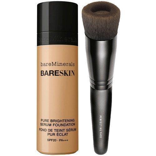 bareMinerals bareSkin Beige & Perfecting Face Brush