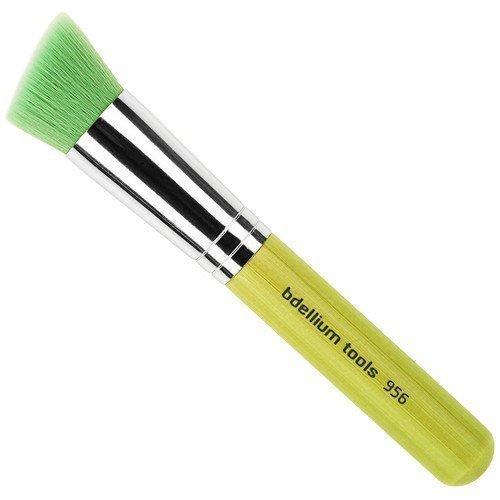 bdellium Tools Green Bambu 956 Slanted Precision Kabuki