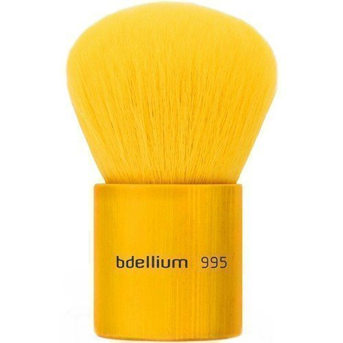 bdellium Tools Yellow Bambu 995Y Kabuki Brush
