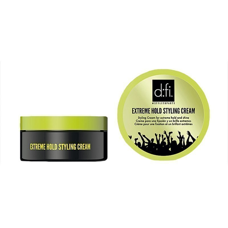 d:fi Extreme Hold Styling Cream x 2 Styling Cream 75g x 2