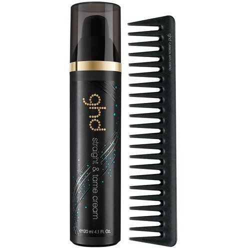 ghd Style Straight & Tame Cream & Detangling Comb
