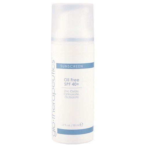 glo-therapeutics Oil Free Facial Sunscreen SPF 40+