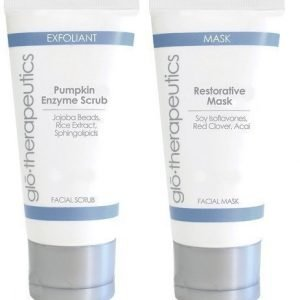 glo-therapeutics Restorative Mask & Pumpkin Enzyme Scrub