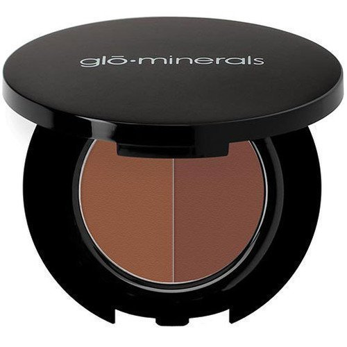 glominerals gloBrow Powder Duo Brown