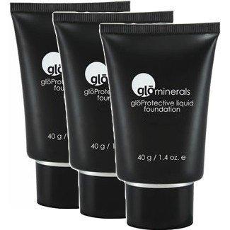 glominerals gloProtective Liquid Foundation Matte II Honey