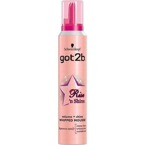got2b Rise 'n Shine Volume + Shine Whipped Mousse