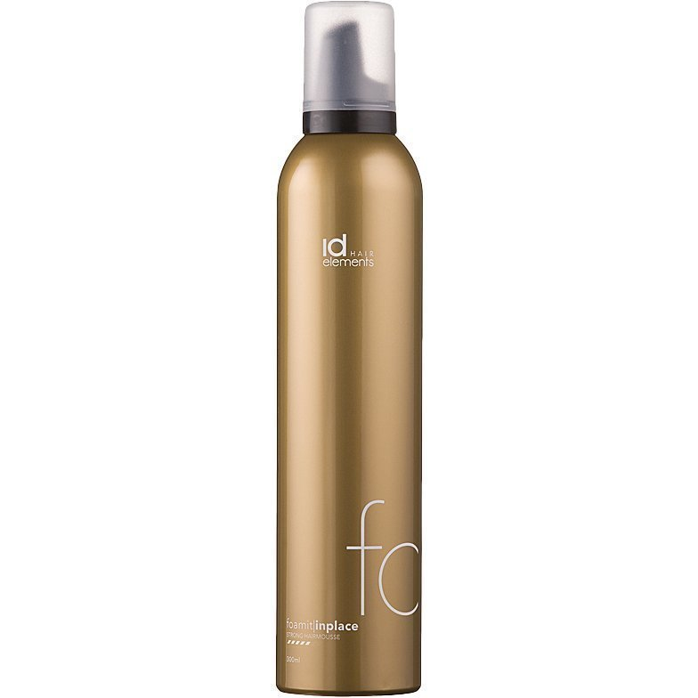 id Hair Elements Foam It In Place Strong Hair Mousse 300ml