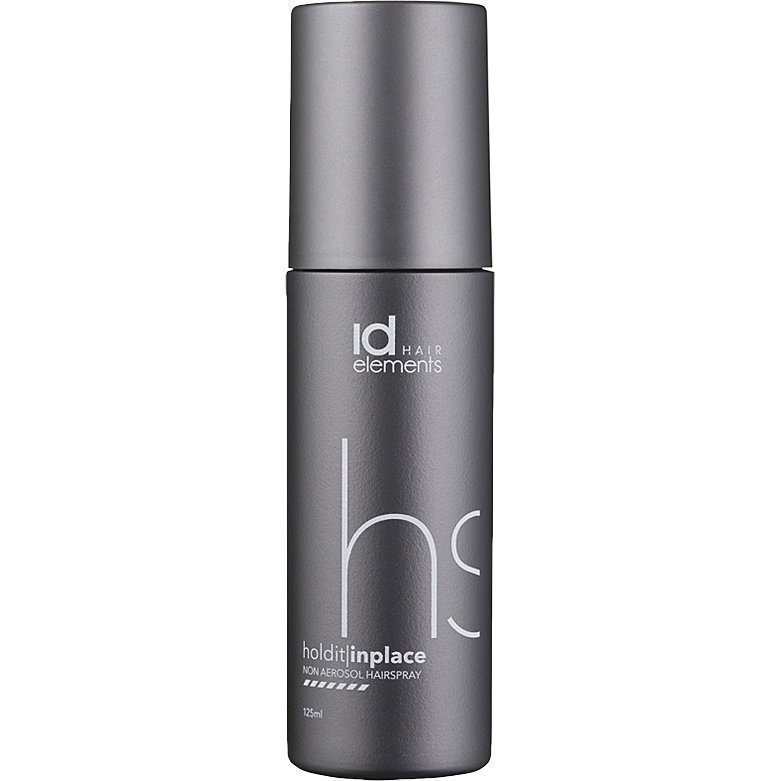 id Hair Elements Hold It In Place Non Aerosol Hairspray 125ml