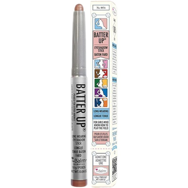 the Balm Batter Up Eyeshadow Stick Curvebal