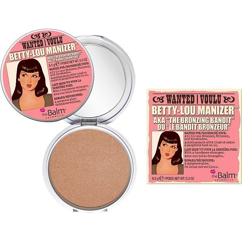 the Balm Betty-Lou Manizer The Bronzing Bandit Bronzer/Shadow 8