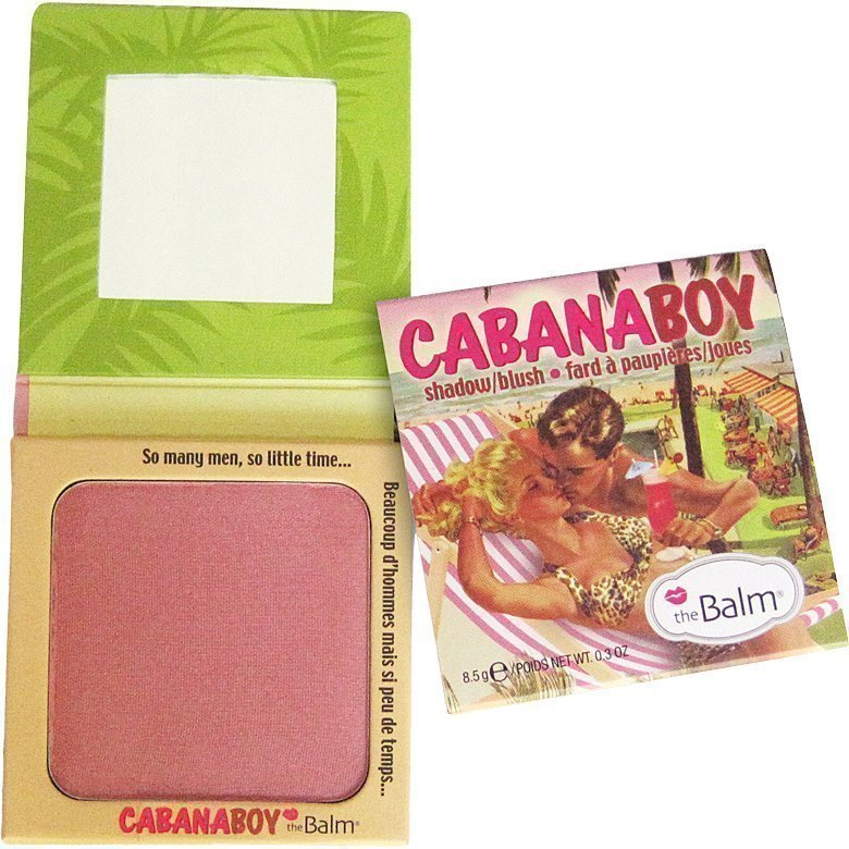the Balm Cabana Boy Shadow/Blush Dusty Rose 8