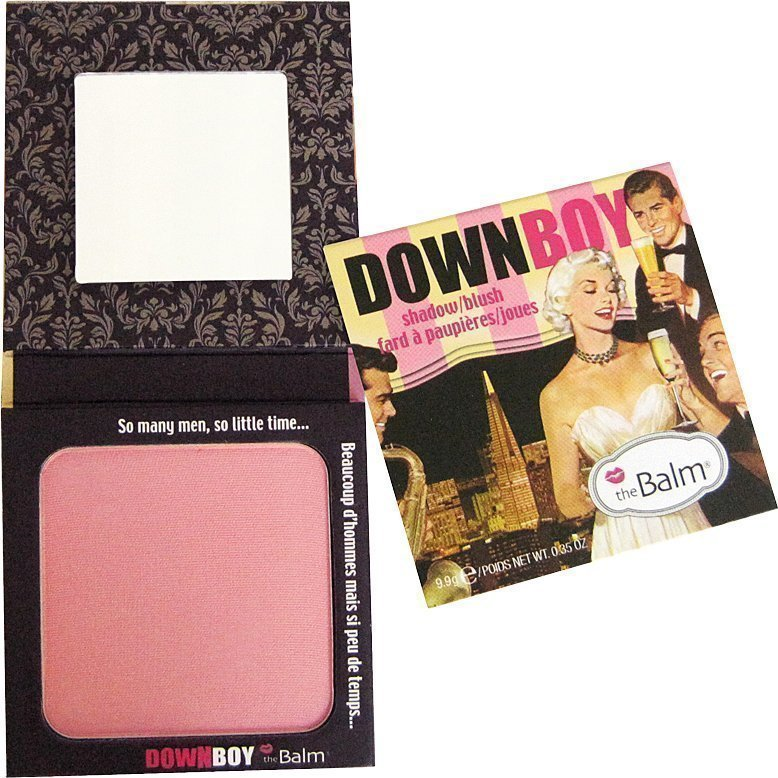 the Balm Down Boy Shadow/Blush Baby Pink 9