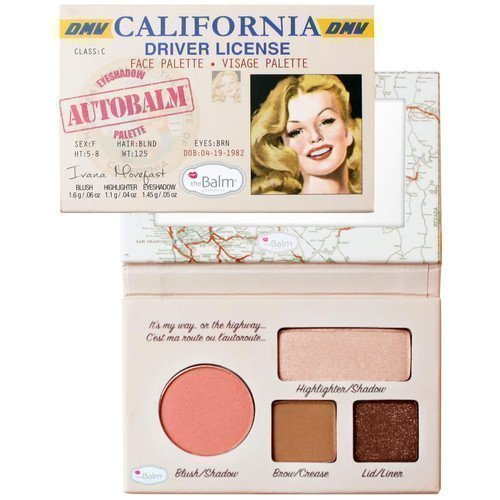 the Balm Eyeshadow Autobalm Palette California Driver License