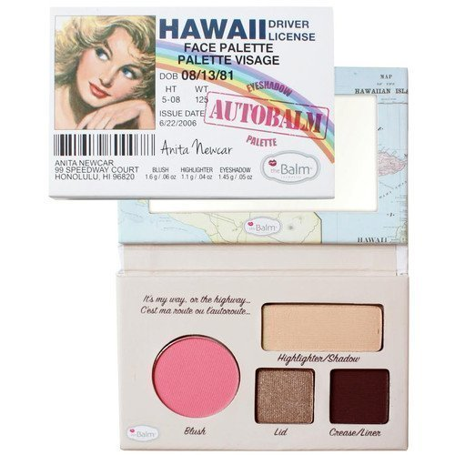 the Balm Eyeshadow Autobalm Palette Hawaii Driver License