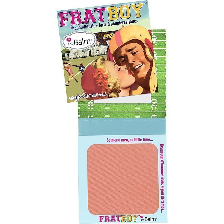 the Balm Frat Boy Shadow/BlushApricot 8