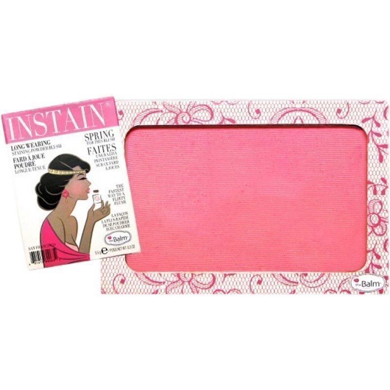 the Balm Instain Powder Blush Lace 6