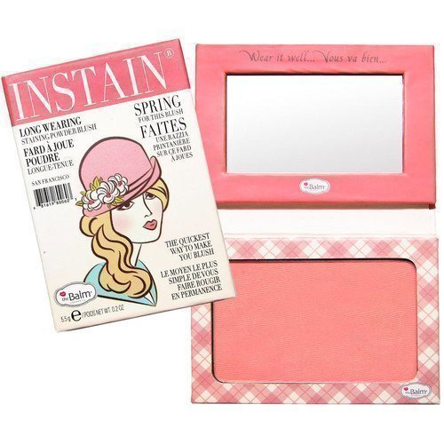 the Balm Instain Powder Blush Swiss Dot