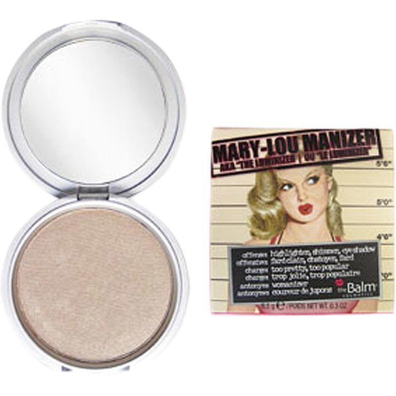 the Balm Mary-Lou Manizer The Luminizer Highlighter/Shadow/Shimmer 8