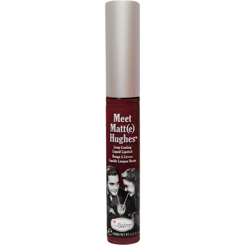 the Balm Meet Matt(e) Hughes Lasting Liquid Lipstick Adoring