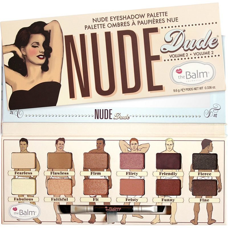 the Balm Nude Dude Eyeshadow Palette Volume 2 12 Shadows 9