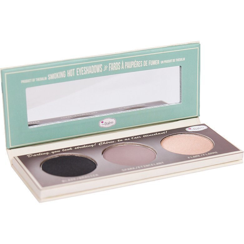 the Balm Smoke Balm Smokey Eye Palette Set 1 3 Eyeshadows 10