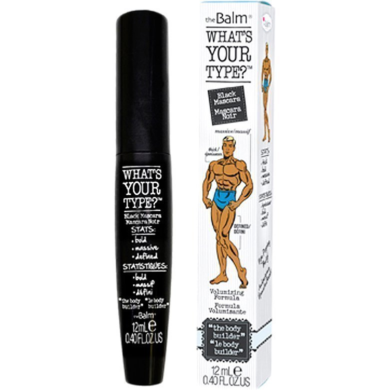 the Balm What's Your Type? Mascara The Body Builder Black 12ml